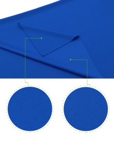 Breathable and Smooth 100% Polyester Honeycomb mesh fabric