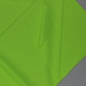 Breathable Neon Color 100% Polyester Mesh fabric in Light Weight for Football Jersey