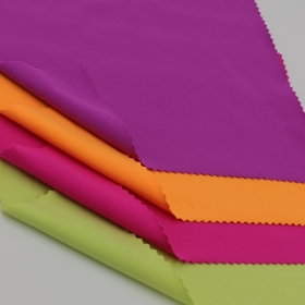 92% Nylon 8% Spandex Cotton-like Single Jersey fabric with Velvet feel for Yoga wear Use