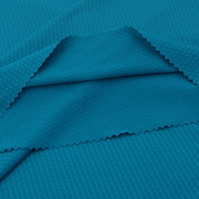 Soft 90% Nylon 10% Spandex Jacquard fabric for Insert of Sports Bras