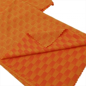 41% Polyamide 44% Polyester 15% Elastane Check Jacquard fabric in Varied Color