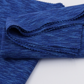 Four Way Stretch 45% Polyamide 42% Polyester 13% Elastane Space Dyed Single Jersey fabric