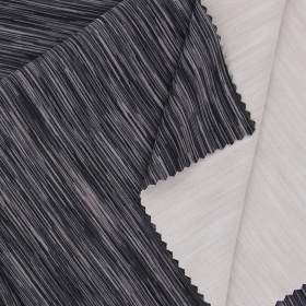 Colored Stripes 51% Polyester 34% Polyamide 15% Elastane Brushed Healthy fabric Like Compound fabric