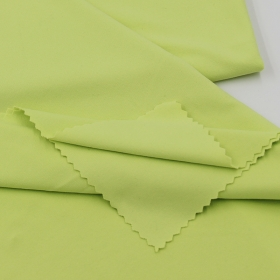 Skin Friendly 93% Nylon 7% Spandex Full Dull Front side Brushed Single Jersey fabric for Yoga Wear