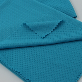 Elastane 90% Polyester 10% Spandex Jacquard Mesh fabric as Jersey and Insert Textiles Material