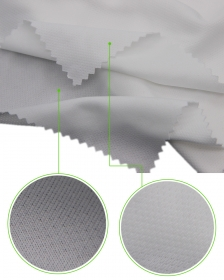 100% Polyester Pin Net Mesh fabric with Sweat Wicking and Dri fit