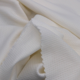 100% Nylon Bird Eyelet Polyamide Mesh fabric with Good Breathability for Sports Running T-shirts