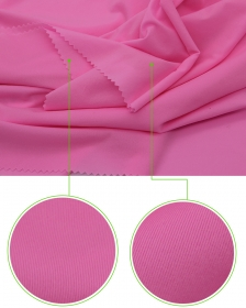 Super Microfiber 85% Nylon 15% Spandex Sweat fabric in Light Weight for Sunscreen or Rash Guards Use