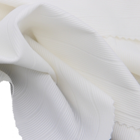 82% Nylon 18% Spandex 2*2 Drop Needle Rib fabric with 4 Way Stretch for Waist Band Cuffs and Hem,