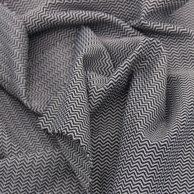Good Stretch 84% Polyester 16% Spandex Transverse Herringbone Jacquard fabric for Yoga Apparel